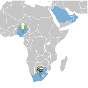 map of africa distributor locations