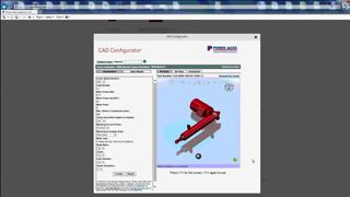 How to configure an EMA Linear Actuator CAD model