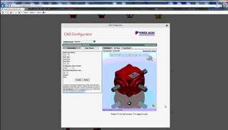How to configure a Bevel Gearbox CAD model