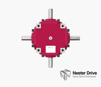 neeter drive spiral bevel gearboxes